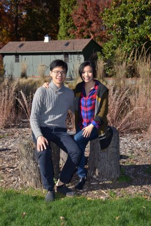 Couple at National arboretum